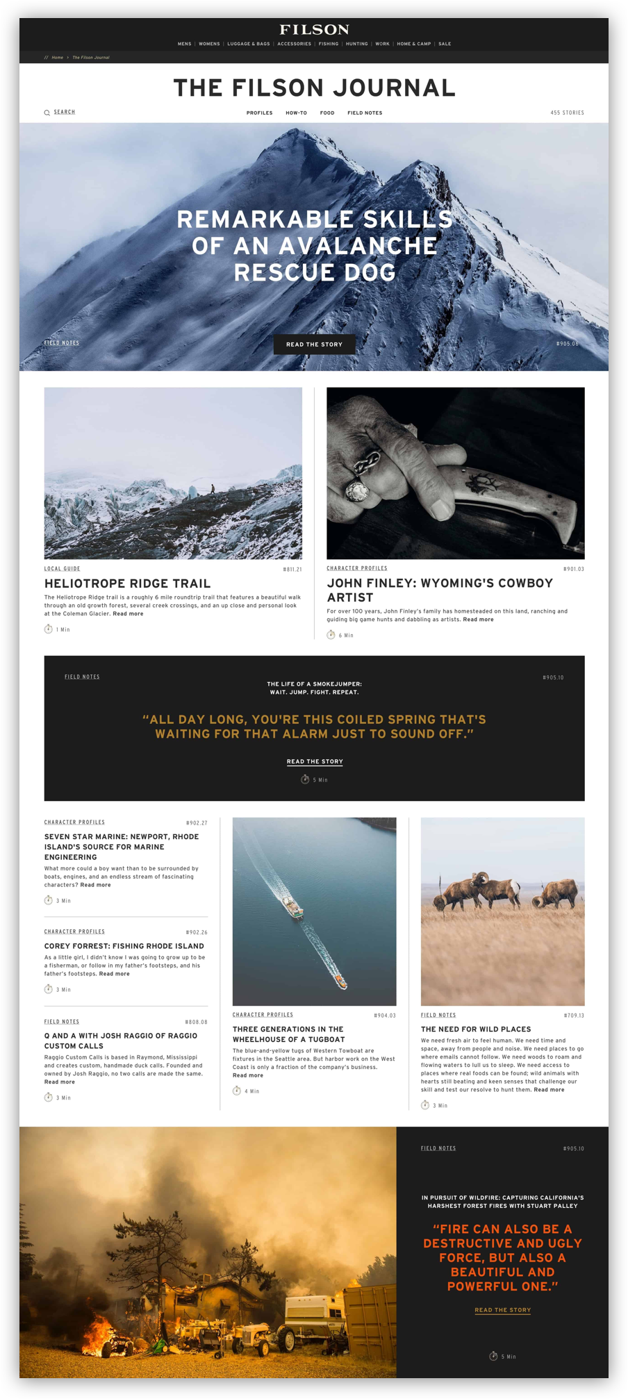 The Filson Journal Homepage